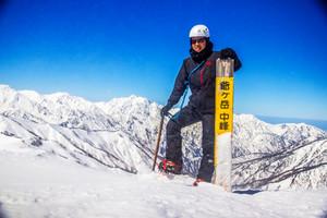 冬期バリ、爺ヶ岳東尾根に行ってきました!